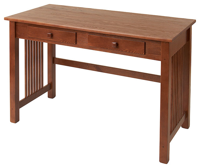 Manchester Wood Inc Large Mission Desk Amp Reviews Houzz