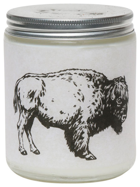 Wild 'N Woolly Soy Candle, Sage Lavandin and Oakmoss, 8 oz.