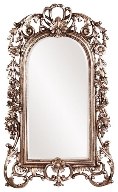 Howard Elliott Sherwood Antique Silver Mirror.