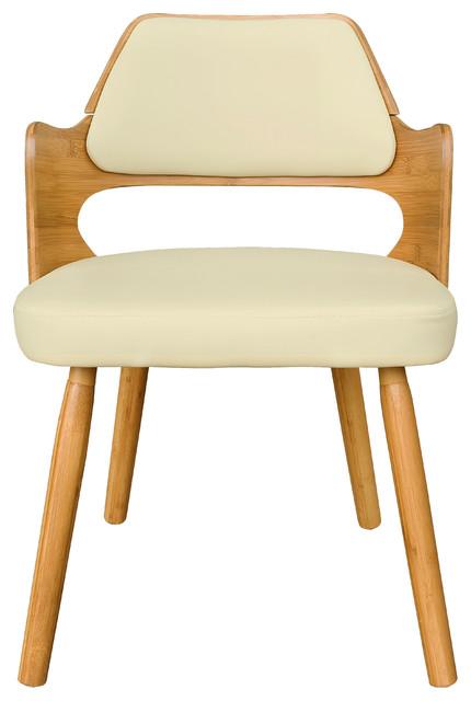 Aura Bamboo Dininig Chair Midcentury Dining Chairs