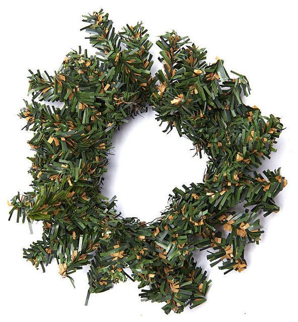 Miniature Pine Wreaths, Set Of 10.