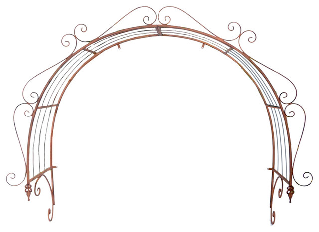 Forged Iron Archway.