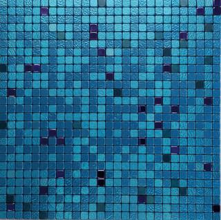 "11.38""x11.38"" Peel and Stick Backsplash Tile, ""Atlantis"", Single Tile"