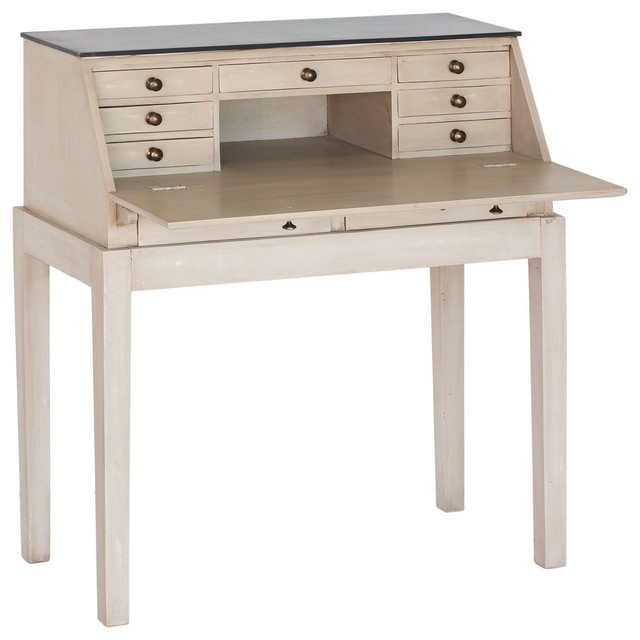 Bounti secr taire console contemporain meuble bureau for Bureau secretaire meuble