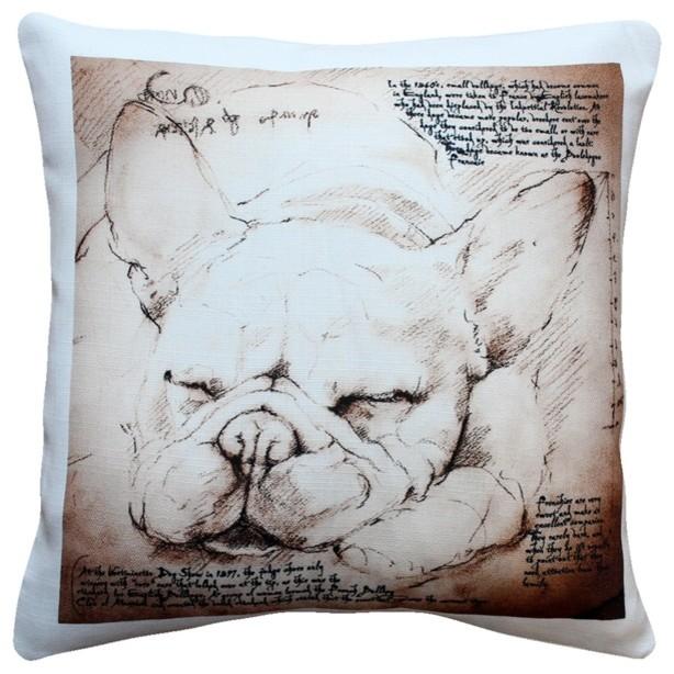 dogs french bulldog dog pillow pillows