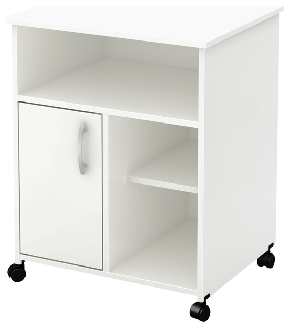 South Shore Axess Printer Stand, Pure White.