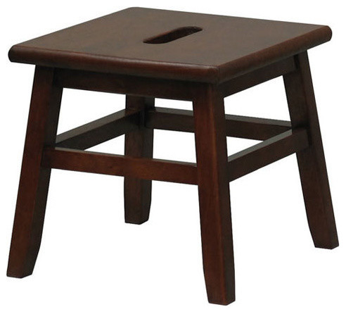 Step Stool, Walnut.