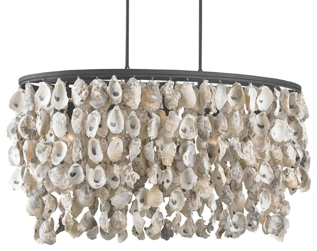 Sagg coastal beach oyster shell wrought iron island light sagg coastal beach oyster shell wrought iron island light beach style chandeliers mozeypictures Image collections