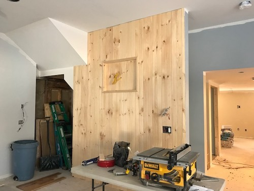 Stain or Paint my pine shiplap