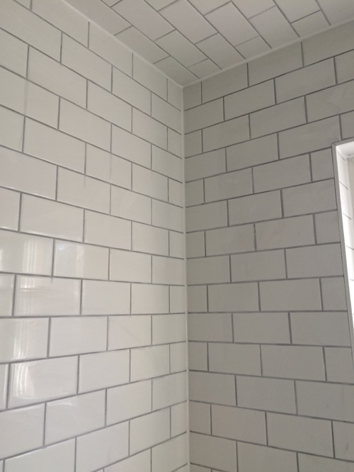 Beautiful White Subway Tile Grout Colour - Tile Designs OS41