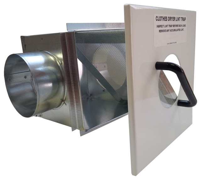 Continental Fan Manufacturing Inc Lint Trap For 4 Dryer Duct View In Your Room Houzz