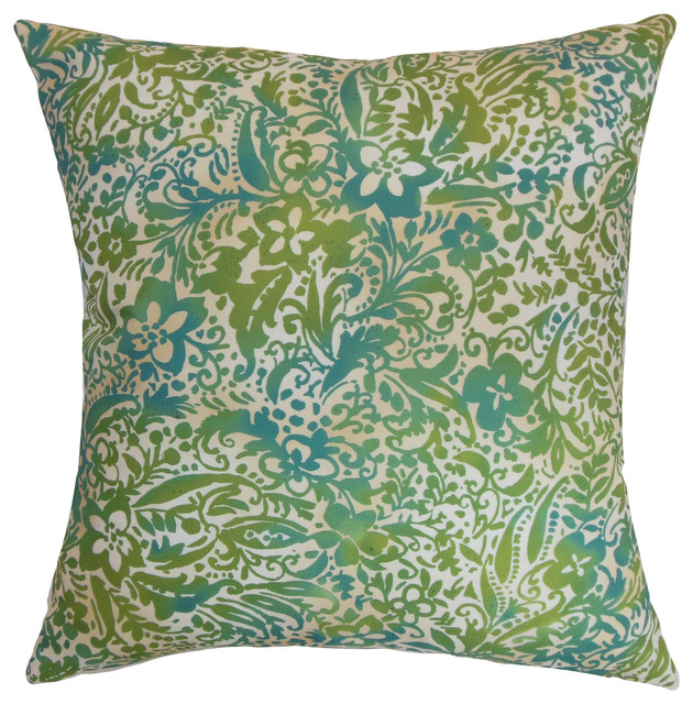 Shop Houzz The Pillow Collection Inc Shima Floral