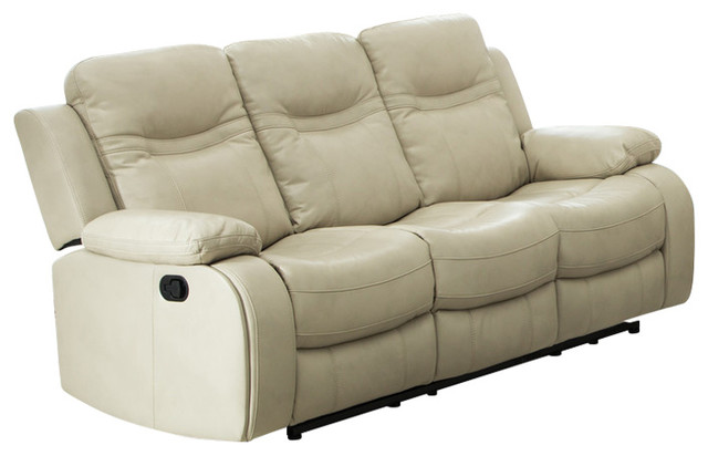 Carlo Recliner Sofa With Manual Handle - Contemporary - Sofas - By HedgeApple