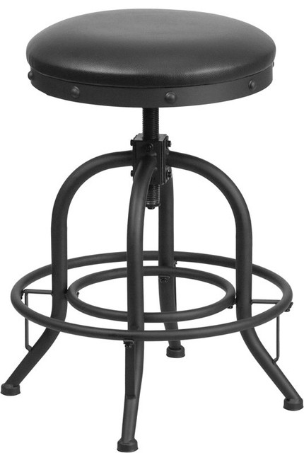 Estella 24 Backless Adjustable Counter Stool With Swivel