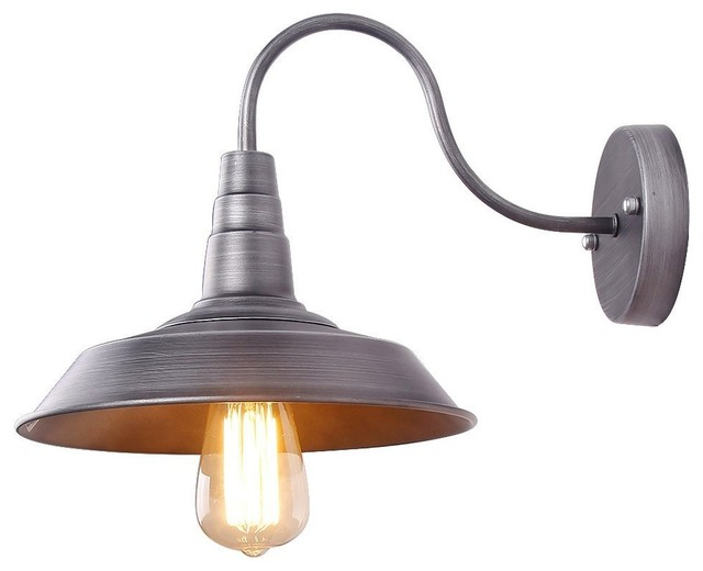 Iron color wall light fixture industrial retro rustic loft iron color wall light fixture industrial retro rustic loft antique wall lamps industrial wall mozeypictures Images