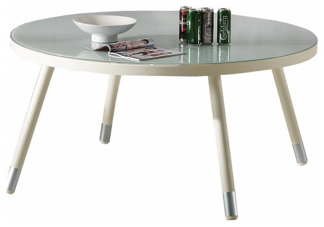 Fatsia Modern Outdoor Round Dining Table For 6 Midcentury Outdoor Dining Tables By Babmar Modern Outdoor Furniture
