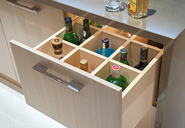 Vern Contemporary Home Bar Vancouver By Old World Kitchens Custom Cabinets