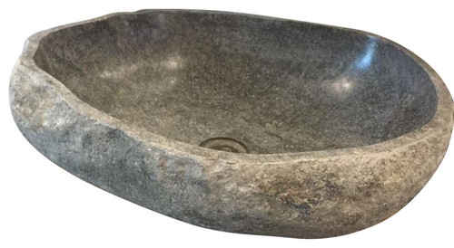 Small Stone Sink Balinese Granite