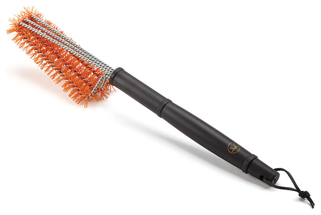 Outset 76439 Smart Start Triple Head Grill Brush.