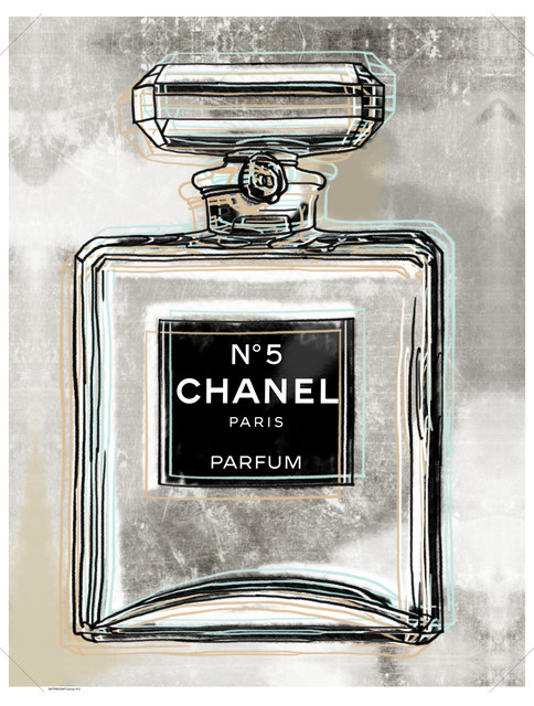 """chanel"" Canvas Print, 30""x40"". -1"