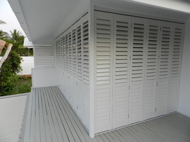 Wonderful Aluminum Exterior Plantation Shutters. Modern Deck Part 5
