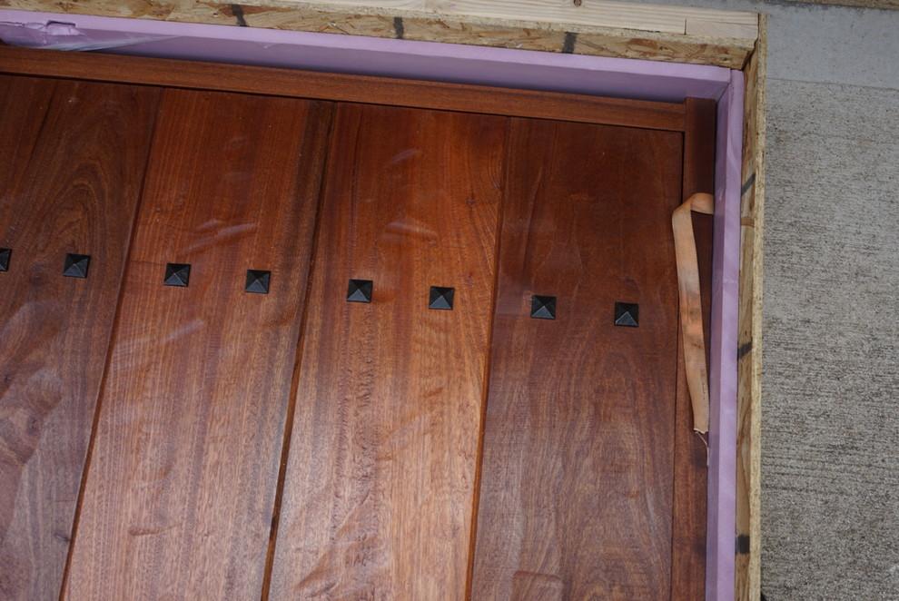Insulated Wine Cellar Entry Door