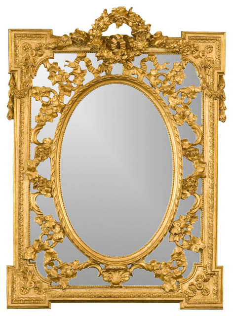 Grandeur Mirror, Gold Leaf.