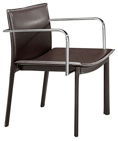 Zuo Modern Gekko 404143 Conference Chairs, Espresso, Set Of 2.