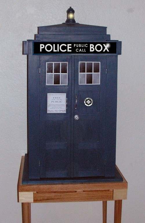 A TARDIS Wine Cabinet Would People Besides Me Want This