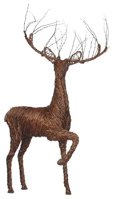 Grapevine Deer Display, Prancing Buck