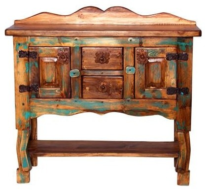 Pleasant Native Turquoise Sofa Table Download Free Architecture Designs Lukepmadebymaigaardcom