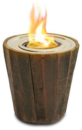 Real Fyre Dvl-25-2cr Charred Rustic Oak Logs, Logs Only