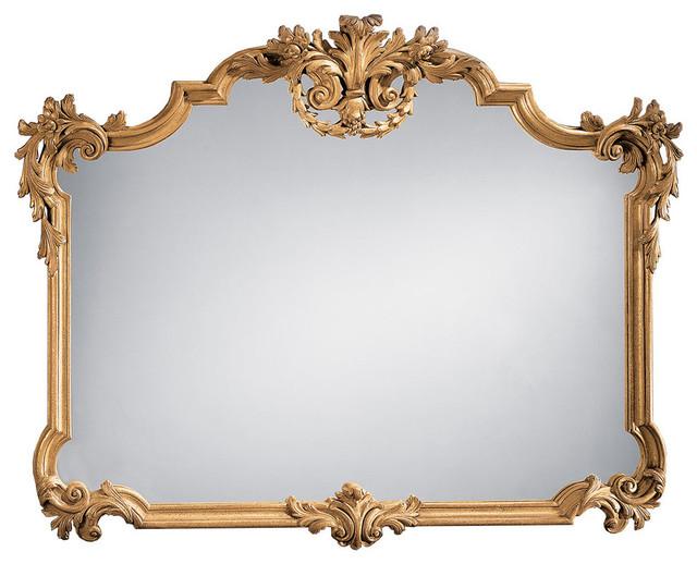 Tuscan-Style Horizontal Mirror.