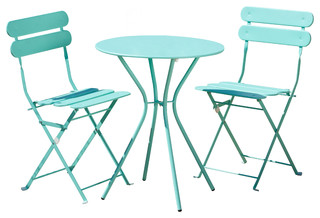 Sol 3-Piece Bistro Set, Blue