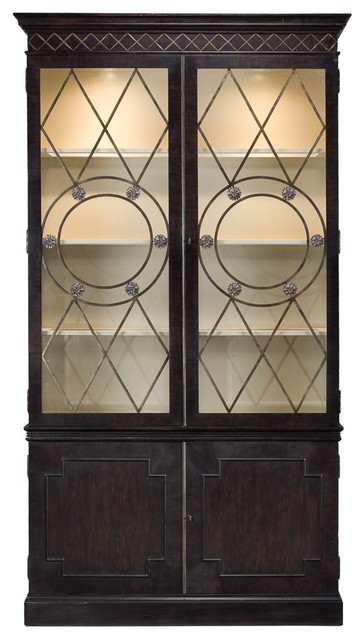 Celeste China Cabinet - Midcentury - Kitchen And Dining ...
