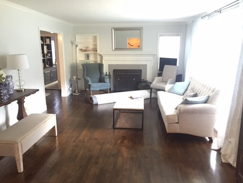 Long Narrow Living Layout and Design