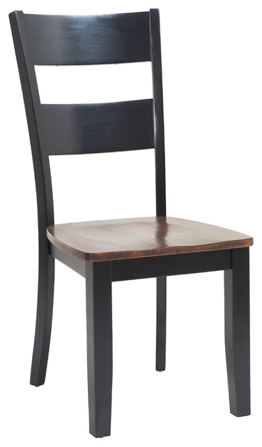 Ttp furnish sturdy dining chair set of 6 dining chairs houzz - Sturdy dining room chairs ...