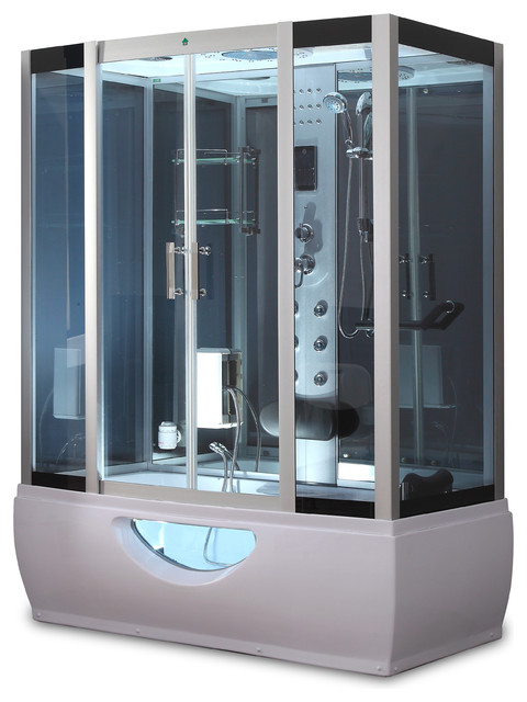 1001now Gt001 Rectangle Steam Shower And Bathtub Enclosure