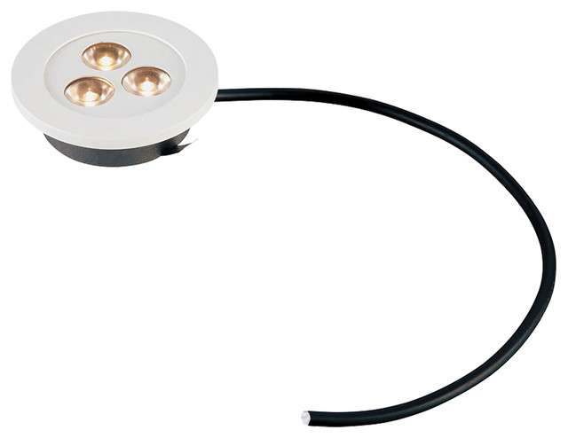 Maggie 3W LED Recessed Puck Light - Contemporary - Undercabinet ...