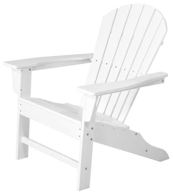 Eco-friendly Adirondack Armchair in White