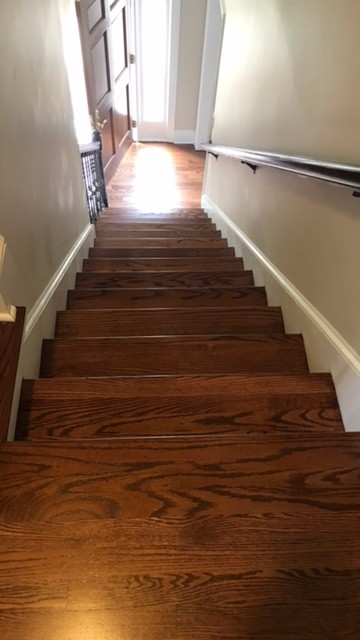 Super English Chestnut Stain on Red Oak Floors - Pictures Attached! QM72