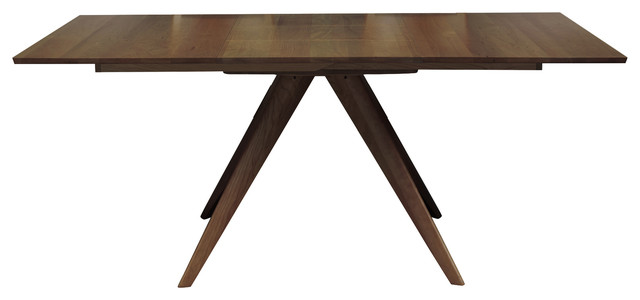 Catalina Square Extension Table Extension And Leaf Storage - 48 square dining table with leaf