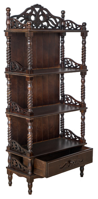Accent Shelves Bookcase.