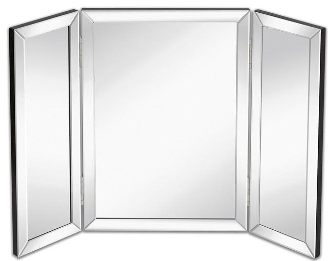Kedyrolo Llc Hamilton Hills Trifold Vanity Mirror Solid