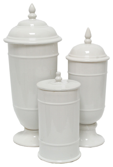 Savannah Canisters, Set Of 3.