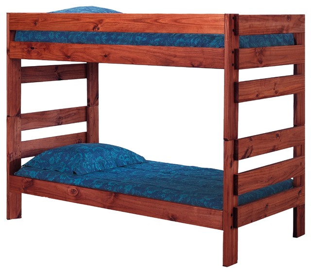 Jericho Extra Long Bunk Bed Rustic Bunk Beds By