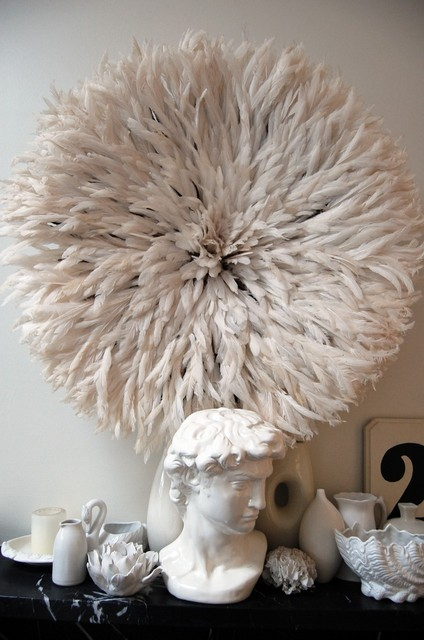 Flock To Feather Juju Hats For Striking Decor