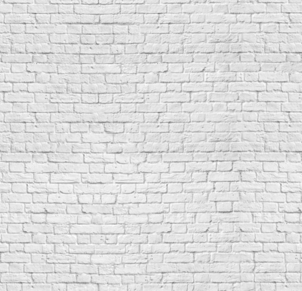 Classic white bricks wallpaper industrial wallpaper - Brique decorative blanche ...