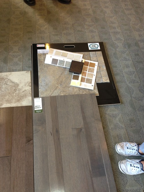 Matching grey hardwood floors paint tiles Paint colors that go with grey flooring