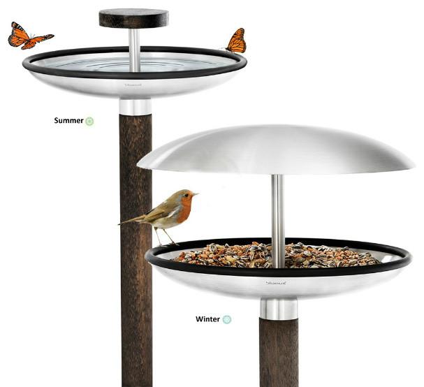 All Seasons Bird Feeder and Bird Bath